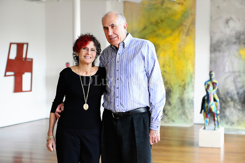 Portrait of Susan and Michael Hort