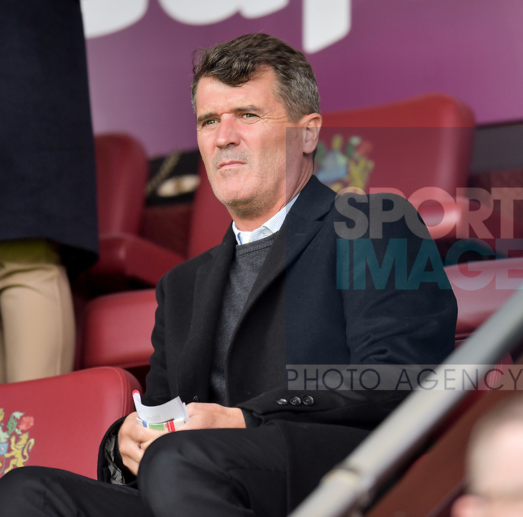 Roy Keane in the stands during the premier league match at the Turf Moor Stadium, Burnley. Picture date 10th September 2017. Picture credit should read: Paul Burrows/Sportimage