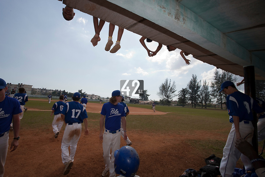 BASEBALL - POLES BASEBALL FRANCE - TRAINING CAMP CUBA - HAVANA (CUBA) - 13 TO 23/02/2009 - TEAM (FRANCE)