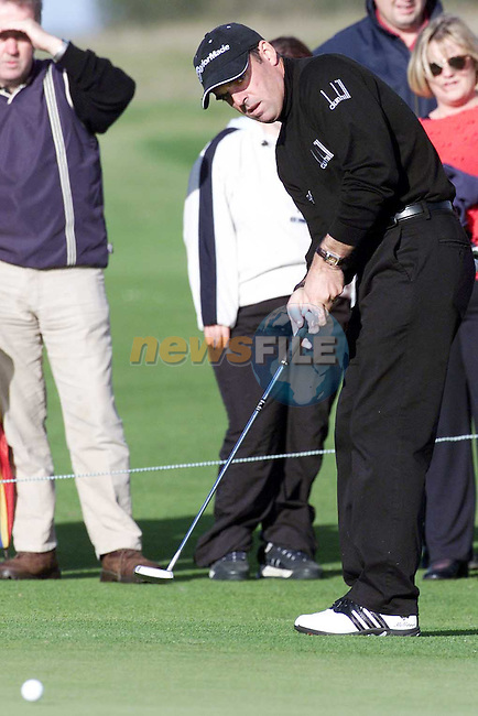 Paul McGinley at the Smurfitt PGA Golf Championships at Baltray..Picture Paul Mohan Newsfile