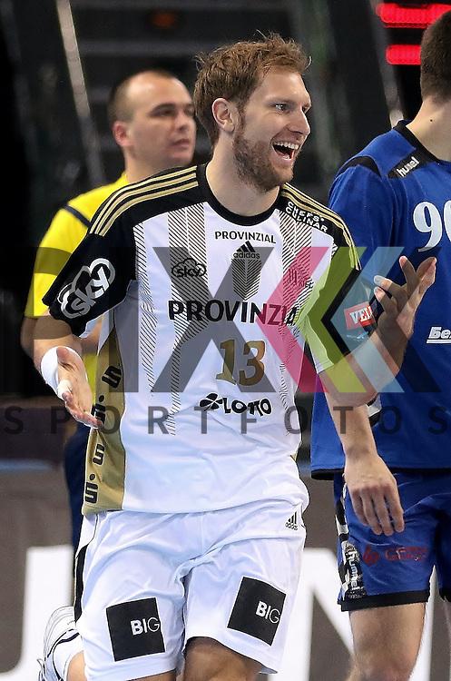 Kiel, 95.02.15, Sport, Handball, Champions League, Gruppenphase, THW Kiel - HC Meshkov Brest : Steffen Weinhold  (THW Kiel, #13)<br /> <br /> Foto &copy; P-I-X.org *** Foto ist honorarpflichtig! *** Auf Anfrage in hoeherer Qualitaet/Aufloesung. Belegexemplar erbeten. Veroeffentlichung ausschliesslich fuer journalistisch-publizistische Zwecke. For editorial use only.