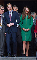 Kate, Duchess of Cambridge & Prince William visit Cambridge Town Hall - New Zealand