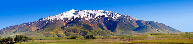 Mount Süphan  , the second highest Volcano in Turkey After Arat at 4058m. North Shore of Lake Van, Turkey 1