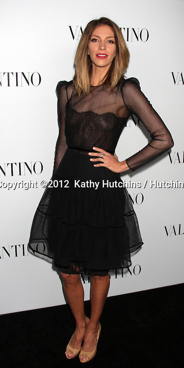 LOS ANGELES - MAR 27:  Dawn Olivieri Valentino Beverly Hills Opening at the Valentino Store on March 27, 2012 in Beverly Hills, CA