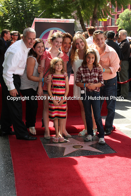 Dave Koz & Family.at the Hollywood Walk of Fame Star Ceremony honoring Dave Koz.Capital Building in Hollywood.Los Angeles, CA.September 22, 2009.©2009 Kathy Hutchins / Hutchins Photo.