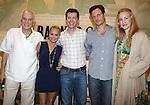 "Dick Latessa, Kristin Chenoweth, Tony Goldwyn & Katie Finneran<br />attending the ""Promises, Promises"" Cd Signing and cast Q & A / Talk Back.  June 24, 2010."