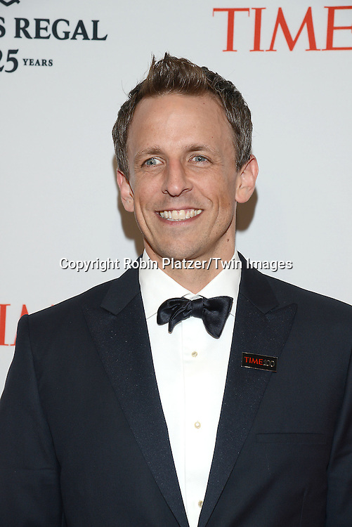Seth Meyers attends the TIME 100 Issue celebrating the 100 Most Influential People in the World on April 21, 2015 <br /> at Frederick P Rose Hall at Lincoln Center in New York City, New York, USA.<br /> <br /> photo by Robin Platzer/Twin Images<br />  <br /> phone number 212-935-0770