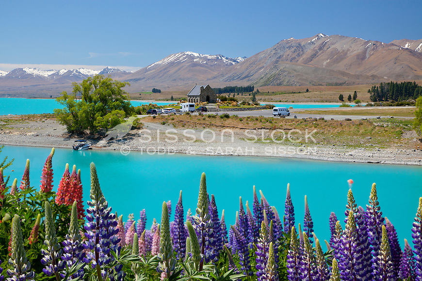 The Church of the Good Shepherd at Lake Tekapo McKenzie Country, South Island