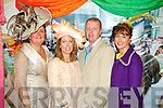 Pictured at Listowel Races, Ladies Day on Friday from left: Liz Kelly-Regan, Caroline Foran-O'Sullivan, Eamon O'Sullivan and Tracy Bolger (all from Tralee).