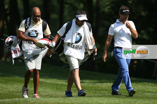 Eduardo De La Riva (ESP) heading down the 13th during Round Two of the 2015 BMW International Open at Golfclub Munchen Eichenried, Eichenried, Munich, Germany. 26/06/2015. Picture David Lloyd | www.golffile.ie