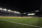 09 June 2011: A standing room only crowd on opening night. Sporting Kansas City played the Chicago Fire to a 0-0 tie in the inaugural game at LIVESTRONG Sporting Park in Kansas City, Kansas in a 2011 regular season Major League Soccer game.