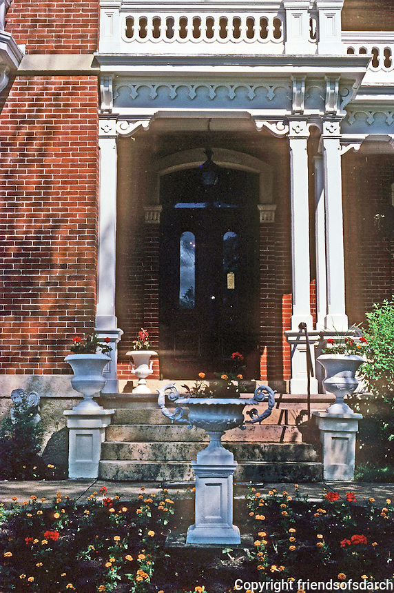 Galena: The Belvedere--entrance. Photo '77.