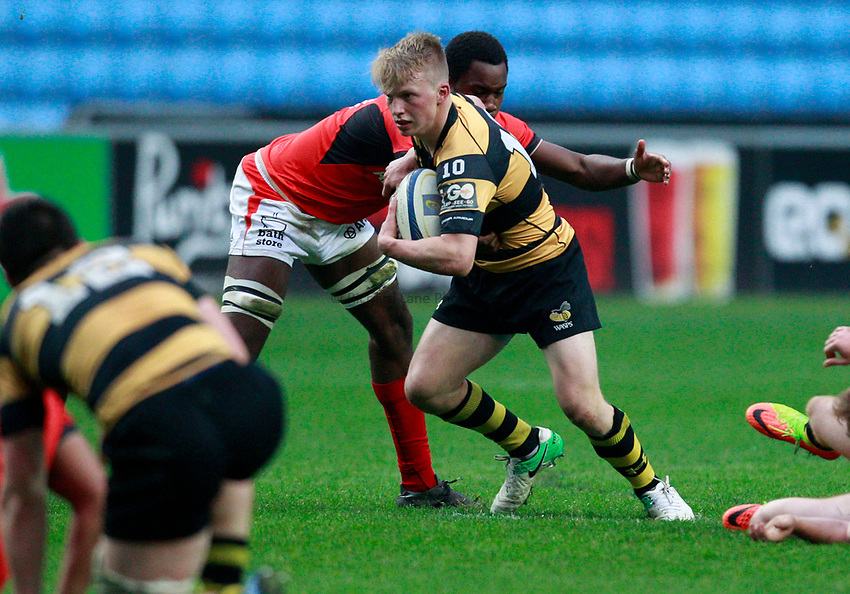 Photo: Richard Lane/Richard Lane Photography. Wasps U17 v Saracens U17 at the Ricoh Arena. 06/05/2017.
