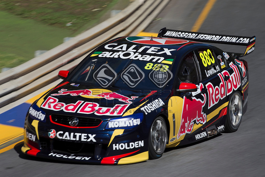 Craig Lowndes of Red Bull Racing Australia during the Clipsal 500, Event 01 of the 2014 Australian V8 Supercars Championship Series at the , , , February 28, 2014.<br /> &copy; Sport the library / Mark Horsburgh