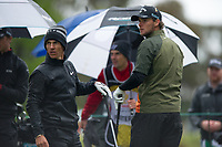 Thorbjorn Olesen (DEN) and Thomas Pieters (BEL) during the second day of the World cup of Golf, The Metropolitan Golf Club, The Metropolitan Golf Club, Victoria, Australia. 23/11/2018<br /> Picture: Golffile | Anthony Powter<br /> <br /> <br /> All photo usage must carry mandatory copyright credit (© Golffile | Anthony Powter)