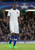 Southampton transfer target Gianelli Imbula of FC Porto during the UEFA Champions League group G match between Chelsea and FC Porto at Stamford Bridge, London, England on 9 December 2015. Photo by Andy Rowland.