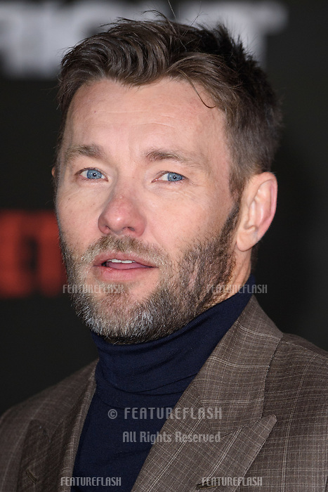 Joel Edgerton at the European premiere for &quot;Bright&quot; European premiere at the BFI South Bank, London, UK. <br /> 15 December  2017<br /> Picture: Steve Vas/Featureflash/SilverHub 0208 004 5359 sales@silverhubmedia.com