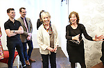 Seth Cotterman, Carol Hall and Gretchen Cryer attends the Dramatists Guild Fund Music Hall and Office warming party at their new home on April 17, 2015 in New York City.
