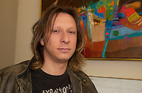 April 2004 File Photo -<br />     Paul Amharani on the set of    LA VIE AVEC MON PERE