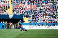 VALENCIA, SPAIN - MARCH 10:  during BBVA LEAGUE match between Levante U.D. Andr Atletico de Madrid at Ciudad de Valencia Stadium on March 10, 2015 in Valencia, Spain