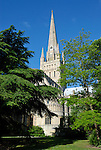Norwich Cathedral, Norfolk, England