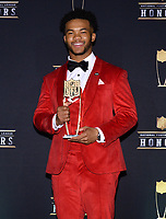 MIAMI, FL - FEBRUARY 1: Offensive Rookie of the Year Arizona Cardinals' Kyler Murray at the 2020 NFL Honors at the Ziff Ballet Opera House during Super Bowl LIV week on February 1, 2020 in Miami, Florida. (Photo by Anthony Behar/Fox Sports/PictureGroup)