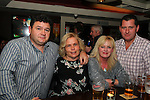 Danny Molloy, Cathriona Molloy, Jenny Burland and John Burland having a night in Barroco.<br /> Picture: Shane Maguire / www.newsfile.ie