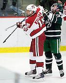 Alex Killorn (Harvard - 19), Evan Stephens (Dartmouth - 24) - The Harvard University Crimson defeated the Dartmouth College Big Green 4-1 (EN) on Monday, January 18, 2010, at Bright Hockey Center in Cambridge, Massachusetts.