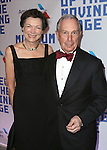 Diana Taylor and Michael Bloomberg attends The Museum of Moving Image Award honoring Kevin Spacey at 583 Park on April 9, 2014 in New York City.