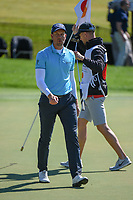 Henrik Stenson (SWE) after sinking his putt on 18 during round 1 of the Arnold Palmer Invitational at Bay Hill Golf Club, Bay Hill, Florida. 3/7/2019.<br /> Picture: Golffile | Ken Murray<br /> <br /> <br /> All photo usage must carry mandatory copyright credit (© Golffile | Ken Murray)