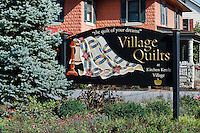 Quilt shop at Kitchen Kettle Village, Ronks, Lancaster County, Pennsylvania, USA