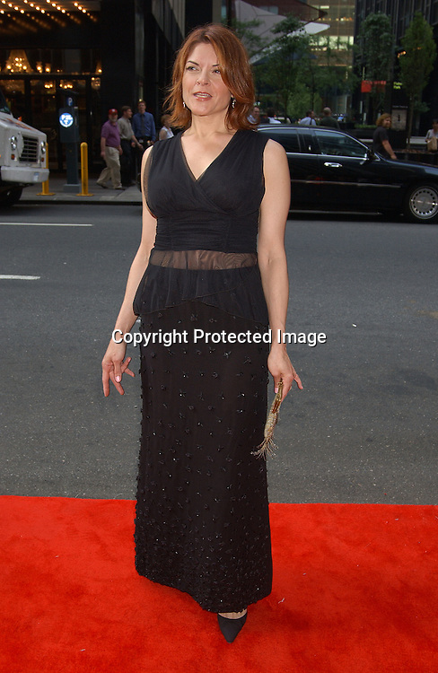 ..Roseanne Cash in vintage Fendi dress..at the National 2003 Gracie Allen Awards event on        June 26, 2003 at the New York Hilton...Photo by Robin Platzer, Twin Images