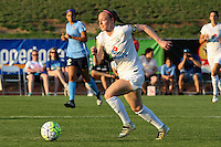 Piscataway, NJ - Saturday June 11, 2016: Becky Sauerbrunn during a regular season National Women's Soccer League (NWSL) match between Sky Blue FC and FC Kansas City at Yurcak Field.