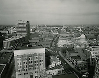 1960 February 10..Redevelopment...Downtown North (R-8)..Downtown Progress..North View from VNB Building..HAYCOX PHOTORAMIC INC..NEG# C-60-5-21.NRHA#..