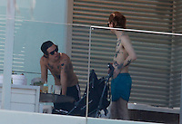 MAY 22 2013.ONE DIRECTION ENJOY BARCELONA SUN IN W LUXURY HOTEL.Non Exclusive.Mandatory Credit: OHPIX.COM..Ref: OH_EU..NOTE: SAME FRAMES IN OTHERS AGENCIES