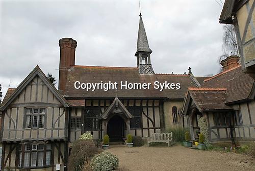 Godstone St Marys Homes Chapel.  Buckinghamshire 2016 Almshouses.