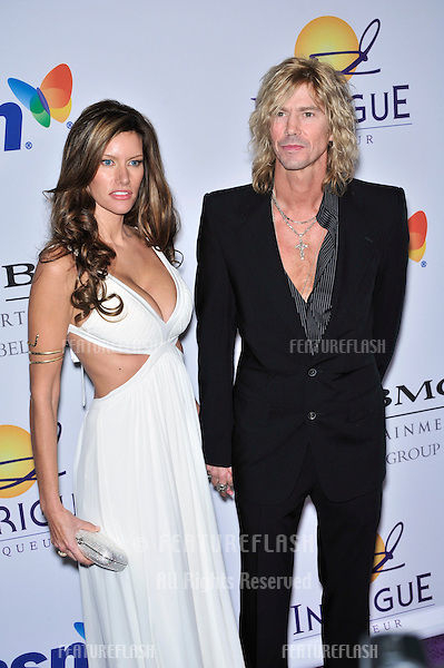 Duff McKagan & date at music mogul Clive Davis' annual pre-Grammy party at the Beverly Hilton Hotel..February 9, 2008  Los Angeles, CA.Picture: Paul Smith / Featureflash