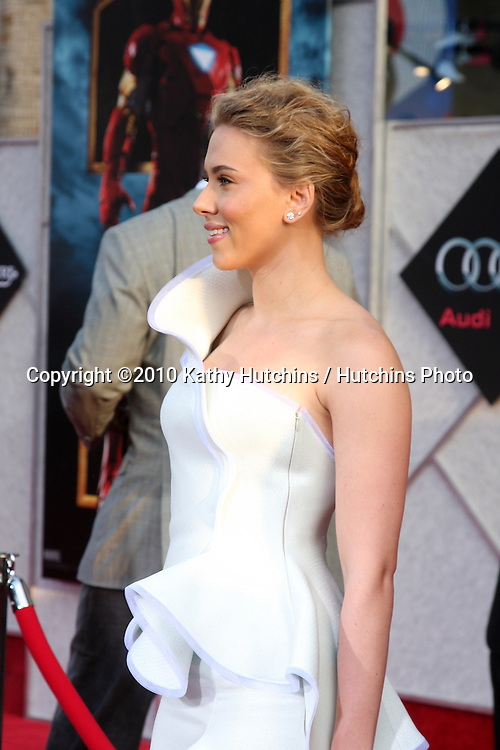 "Scarlett Johansson.arrives at  the ""Iron Man 2"" Premiere.El Capitan Theater.Los Angeles, CA.April 26, 2010.©2010 Kathy Hutchins / Hutchins Photo..."