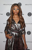 LOS ANGELES, CA - AUGUST 11: Skai Jackson, at Beautycon Festival Los Angeles 2019 - Day 2 at Los Angeles Convention Center in Los Angeles, California on August 11, 2019. <br /> CAP/MPIFS<br /> ©MPIFS/Capital Pictures