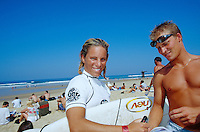 Trudy Todd (AUS), 2nd Rip Curl Pro, Hossegor, France. 1999.photo:  joliphotos.com