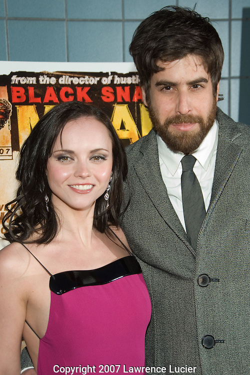 Christina Ricci and Adam Goldberg