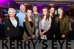 Front l-r Mo Glover, Eileen O'Shea, Chloe Mc Carthy and Melissa Ward, Back l-r Bill Glover, Maria Ward and Ann Marie Gaina all from Kenmare pictured at Miss Kerry 2017 contest in The Brehon Hotel, Killarney last Friday night.