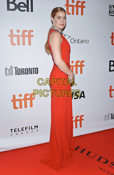 12 September 2016 - Toronto, Ontario Canada - Amy Adams. &quot;Arrival&quot; Premiere during the 2016 Toronto International Film Festival held at Roy Thomson Hall. <br /> CAP/ADM/BPC<br /> &copy;BPC/ADM/Capital Pictures