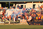 24 August 2013: Carolina's supporters the 309 Depot. The Carolina RailHawks played the Minnesota United FC Loons at WakeMed Stadium in Cary, NC in a 2013 North American Soccer League Fall Season game. Carolina won 1-0.