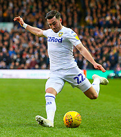 Leeds United's Jack Harrison<br /> <br /> Photographer Alex Dodd/CameraSport<br /> <br /> The EFL Sky Bet Championship - Leeds United v Hull City - Saturday 29th December 2018 - Elland Road - Leeds<br /> <br /> World Copyright © 2018 CameraSport. All rights reserved. 43 Linden Ave. Countesthorpe. Leicester. England. LE8 5PG - Tel: +44 (0) 116 277 4147 - admin@camerasport.com - www.camerasport.com
