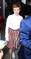 NEW YORK, NY August 30, 2017  Sophia Lillis,  at Build  to talk  about new movie IT in New York August 30 2017.Credit:RW/MediaPunch