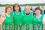 Cromane rowers who competed at the Callinafercy regatta on Sunday l-r: Mary Clifford, Maura Lynch, Maureen O'Sullivan-Dennehy and Rosemarie Joy..
