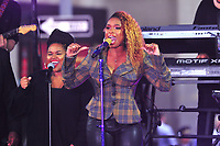 NEW YORK, NY - OCTOBER 11:  Jennifer Hudson on NBC's Today promoting and celebrating International Day of the Girl in New York City on October 11, 2018. Credit: John Palmer/MediaPunch