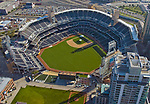 Aerial view Petco Field Home of the San Diego Padres