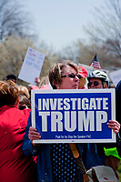 Protesting Trump Kenosha Wisconsin  April 18th, 2017